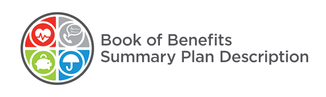 Book of Benefits Summary Plan Description logo